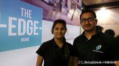 Kavita & Sheetalkumar Shingade - Property Konnect - The Edge - Studio Apartments - Twin Bungalows at Harne Dapoli Ratnagiri - Visit Sakal Vastu - Pune Property Exhibition - 25th - 27th April 2014
