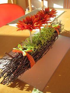 Handmade home decoration - Handmade domácí dekorace Creative Flower Arrangements, Ikebana Arrangements, Floral Arrangements, Deco Floral, Floral Centerpieces, Centrepieces, Deco Table, Handmade Home Decor, Flower Crafts