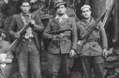 Italian partisans. Many partisans were former Italian Army soldiers that joined the civilians to fight the Nazifascists.