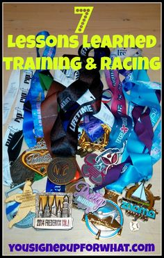 Lessons learned training racing - running, triathlon, fitness, race tips.