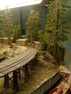 The Ultimate Guide in Toy Train Collections N Scale Trains, Ho Trains, Model Trains, Train Table, Train Pictures, Model Train Layouts, Nightmare On Elm Street, Scenery, Miniature Trees
