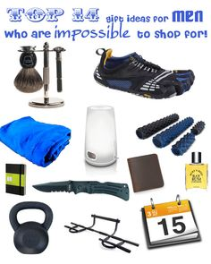 Top 14 Gift Ideas for Men from WellnessMama.com #gifts #wellness #health