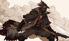 Bloodborne arts Dnd Characters, Dark Souls, Old Blood, Bloodborne Art, Anime, Dark Fantasy, Fantasy Art, Dark Art, Fantasy Heroes
