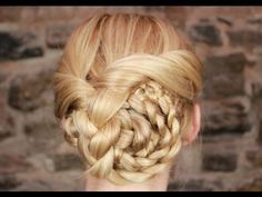 Easy Braided Updo Tutorial - YouTube