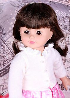 Madame-Alexander-about-18-Doll-very-good-used-condition-new-outfit-new-wig