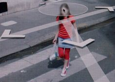 From the series of collected Google Street images by Michael Wolf.