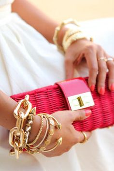 Bolsa Pink, com estilo!
