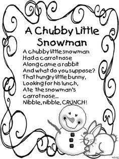 Chubby Little Snowman