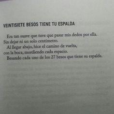 27 #besos tiene tu #espalda