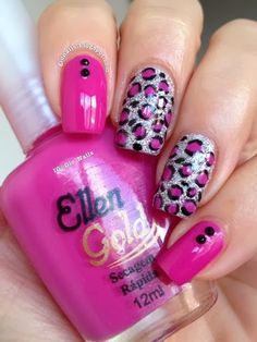 GioNails: Pink October #4: Jamille - Ellen Gold + Hard Rock - Hits