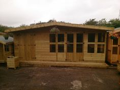 combi1 Shed/Summer house combination