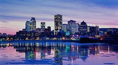I love city scapes. This one is of Montreal.