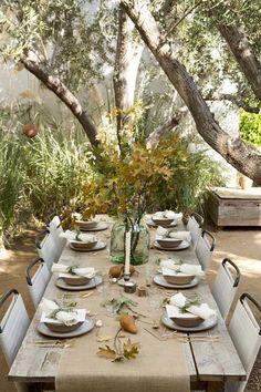 Table is set #outdoordinning