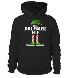 The Drummer Elf - Christmas Drummer T-Shirt | Drummer T-Shirts & Hoodies Online | Bunki´s 1st Drummer T Shirts, Drummer Gifts, Drop, Models, Christmas Elf, Hoodies, Sweatshirts, Boyfriend Gifts, Evolution