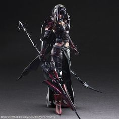 Play-Arts Kai Final Fantasy XV Aranea Highwind Figure From Square Enix