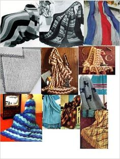 Vintage Knitting Afghan Patterns - 36 Homemade Knit Afghan Patterns - Baby Knit Afghan, French Poodles Afghan, Leaf Pattern Afghan and Many More eBook: Craftdrawer Craft Patterns, Bookdrawer: (Amazon Link)