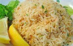 Greek Lemon Pilaf - RecipeZazz