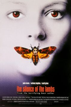 'The Silence of the Lambs' movie poster, Jonathan Demme, 1991