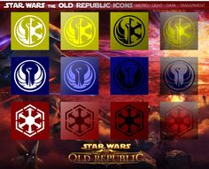 Star Wars: The Old Republic Icons Mix by xmilek.deviantart.com on @deviantART