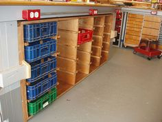 Soft Drink Crate Storage System