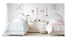 Restoration Hardware Baby & Child for high quality baby and kids furniture, nursery bedding, girls bedroom. Kids Bedroom Furniture, Bedroom Decor, Cheap Furniture, Furniture Online, Furniture Layout, Discount Furniture, Bedroom Ideas, Upholstered Beds, Little Girl Rooms