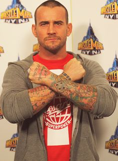 CM Punk yes please!!