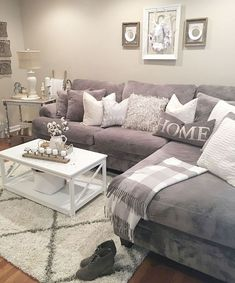 If you need inexpensive items for your new flat or home then get these Primark home accessories. From Primark home beddings to candles, you'll find all of your Primark home decor item needs. Elegant Living Room, Cozy Living Rooms, Apartment Living, Apartment Ideas, Living Room With Gray Walls, Living Room Neutral, Chic Apartment Decor, Apartment Guide, Apartment Essentials