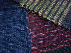 Beautiful sakiori (rag) weaving from Japan by Gramma Ashiwa.