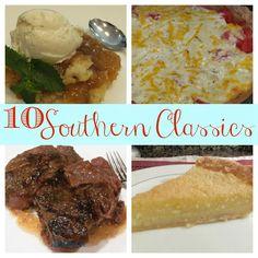 10 Southern Classics That Will Make Grandma Proud #southern #recipes