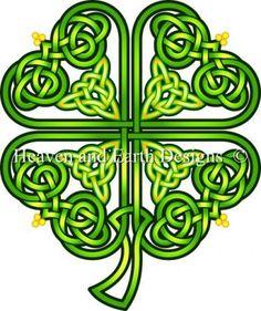 Celtic Shamrock (quadrifoglio celtico)