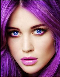 Absolutely stunning -- wish I had a bigger pic -- beautiful hair and makeup -- I would love to have this look....
