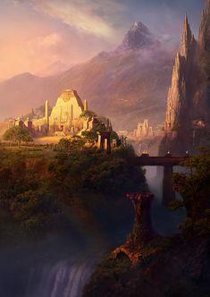 Post-Atlantis. Sacred Lands by EyeSeeBlack on deviantART via PinCG.com