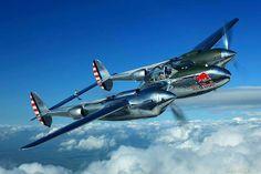 P-38 Lovely plane