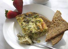 Make Ahead Breakfast Recipe: Clean Eating Egg and Veggie Casserole | All Sorts of Pretty
