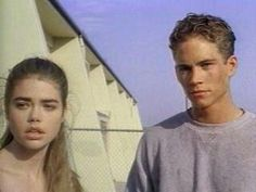 """Denise Richards and Paul Walker from the movie, """"Tammy and the T-Rex."""""""