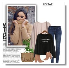 """""""Romwe contest"""" by fashion-all-around ❤ liked on Polyvore featuring Topshop, River Island, women's clothing, women's fashion, women, female, woman, misses and juniors"""