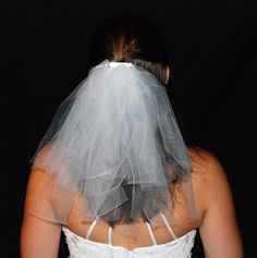WEDDING OR BACHELORETTE Party 2Tier Veil