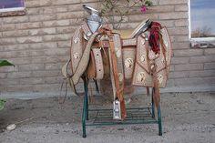 another beautiful charro saddle
