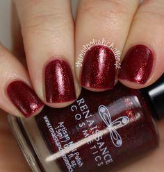 The Nail Polish Challenge: Renaissance Cosmetics:Blood/Lust (I have a mini, need full size)