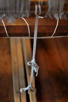The Harness-to-Treadle Tie-Up for Barn Looms  http://marshfieldschoolofweaving.blogspot.com/2011/09/harness-to-treadle-tie-up-for-barn.html