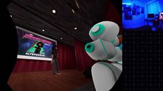 Full video of Reggie Watts stand up in AltspaceVR