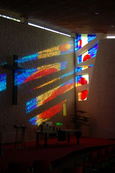 glas-applique KPN Hervormde kerk Dussen , Peggy Hermans