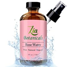 TOP RATED ROSE WATER by Zia Botanicals 1 HYDRATING ROSEWATER NATURAL FACIAL TONER SPRAY Gentle for Acne *** For more information, visit image link.