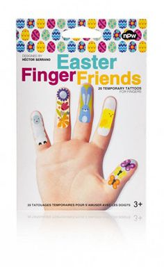 The 3 Bears One Stop Gift Shop Easter Finger Temporary Tattoos Easter Toys, Easter Gifts For Kids, Happy Easter, 3 Bears, Tattoos For Kids, Blue Gift, Designer Toys, Finger Tattoos, 3 Things