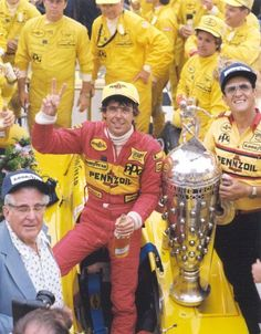 Rick Mears wins my first Indy 500 in 1984