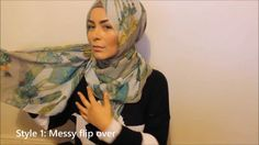 Turkish inspired hijab looks - Life-Long Percussion: Signature Hijab Style in 6 different ways