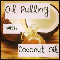 Okay getting crazy and gonna add this to my daily routine! #oilpulling #coconutoil