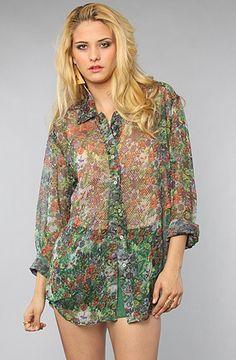 Insight The Floral Landscape Shirt : Karmaloop.com