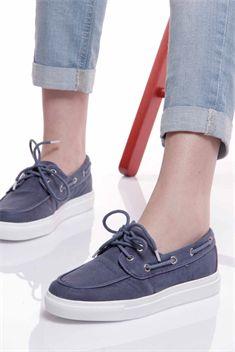 Spor Ayakkabı Lacivert-16Y4202