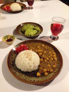 El curry de garbanzo